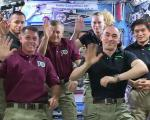 ISS Expedition 49 crew. Image: NASA