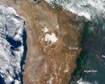 South America. Image courtesy of NASA