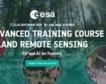10th Advanced Training Course On Land Remote Sensing logo. Image:ESA