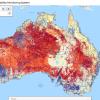 Screenshot of the Australian Monitoring System web portal
