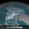 Arctic sea ice by 2016. Image: Courtesy of NASA