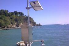 Sea Level Station installed by IOC in December 2013 in Jacmel, Haiti