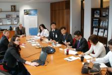 Delegation of the Ministry of Public Safety and Security visits UN-SPIDER