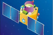 Artistic rendering of Cartosat-2