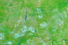 Floods in northeastern Nigeria in August 2011 captured by NASA's Aqua satellite