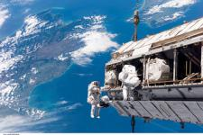 The ISS plays an important role in helping emergency responders