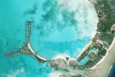 Bora-Bora captured by Astrium's Pleiades in 2012