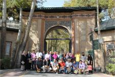 Workshop participants during cultural visit in Tehran.
