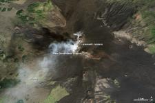 Natural-color view of the Etna captured by Landsat-8 on 24 September 2013