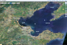 The new Chinese national emergency geospatial data system uses World Map, China'
