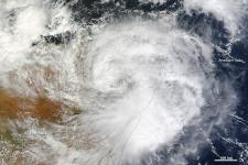 Tropical Cyclone 3A is just the fifth storm to strike the country since 1966