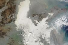 Smog covers Eastern China