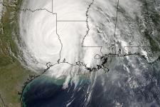 Hurricane Rita captured by Terra satellite / Credit: NASA