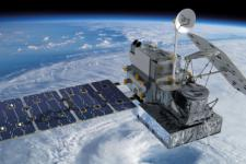 The GPM satellite created by NASA and JAXA