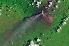 The eruptions of Mount Sinabung are less violent now, but they are not over.