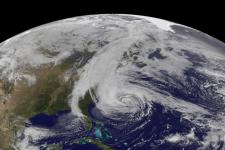 hurricane Sandy from Space