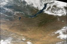 Mongolia seen from Space