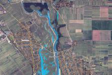 Flood Delineation Map of Bragadiru, Romania on 20 April 2014