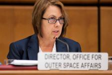 Simonetta Di Pippo, Director of the UN Office for Outer Space Affairs (UNOOSA)