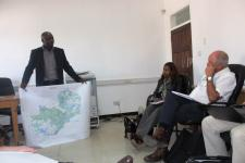 The experts met with 15 key stakeholder agencies in the country