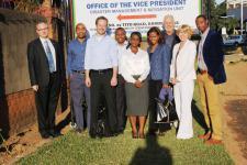 The Zambia Technical Advisory Mission Team