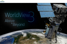 Digital Globe's WorldView-3 satellite can collect 650,000 sq km of imagery a day