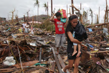 The report states that almost 22 million people were displaced by disasters in 2013.
