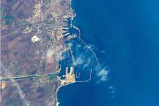 Constanta, Romania seen from space
