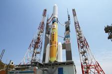 Himawari-8 was launched on 7 October 2014 from Tanegashima Space Centre