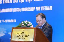 Viet Nam's Vice Minister for Agriculture, Dr. Hoang Van Thang, inaugurated the workshop