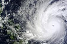 NASA's Terra satellite took an image of Super Typhoon Hagupit