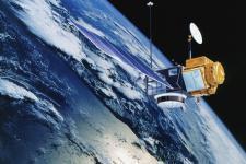 NASA/Centre National d'Etudes Spatiales TOPEX/Poseidon oceanography satellite