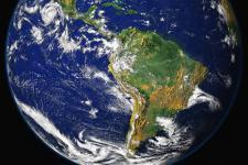 NASA's Goddard Space Flight Center's image of Latin America