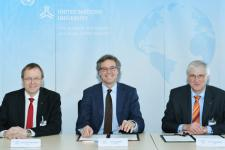 DLR and the United Nations University agreed on closer cooperation