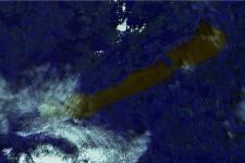 Satellite image of Lake Balaton (Image: Viktor Tóth)