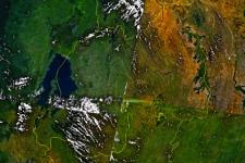 Rwanda satellite map (Image: NASA)