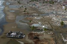 The programme will provide data analytics for disaster response (Image: US Navy)