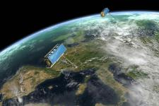 WorldDEM is based on data acquired by the high-resolution radar satellites TerraSAR-X and TanDEM-X (Image: DLR)