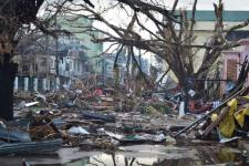 Damages caused by Typhoon Haiyan in Philippines in 2013 (Image: Eoghan Rice - Trócaire / Caritas)