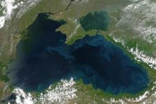 The IASON project aimed to implement Earth observation in the Black Sea and Mediterranean regions (Image: NASA)