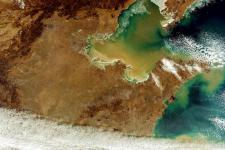 Satellite image of Northern China (Image: ESA)
