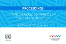 The Proceedings of the Third UN WCDRR now available in English (Image: Prevention Web)