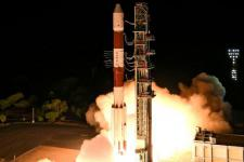 The new satellites have been launched from Satish Dhawan Space Centre, Sriharikota, India (Image: ISRO)