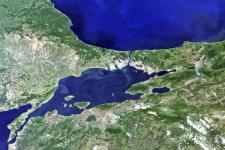 Satellite view of the city of Istanbul (Image: ESA)