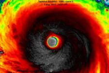 I-Band image of the storm provided by VIIRS instrument (Image: NASA)