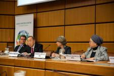 World Disasters Report 2018 launch at the United Nations Office in Vienna. Image: UNIS.