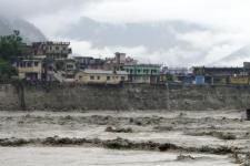 Floods in Uttarakhand, India, in 2013.