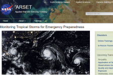 Monitoring Tropical Storms for Emergency Preparedness