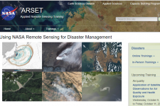 Using NASA Remote Sensing for Disaster Management