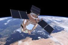 Air quality monitoring for Copernicus. Image: ESA/ATG medialab.